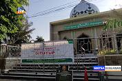 Masjid Agung Darusalam Bojonegoro Ditutup Untuk Umum