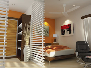 3 BHK flat bedroom interior design and renovation