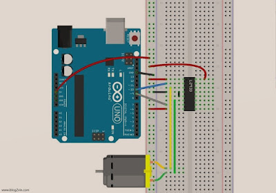 Arduino with DC Motor