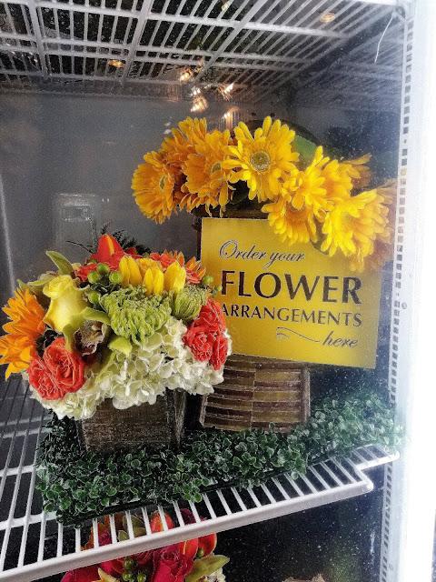 Yellow Vase Cafe South Coast Plaza Orange County California flowers sunflowers French restaurant bouquets