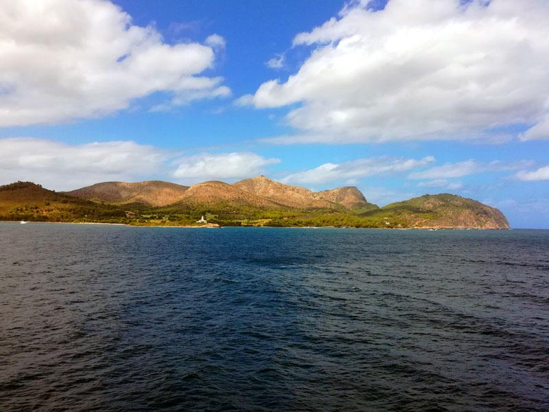 Lasciando Maiorca da Port d'Alcudia, 10 agosto 2017