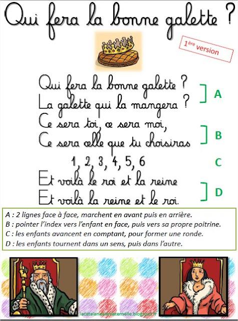 """Ronde chantée """"La bonne galette"""" 1"""