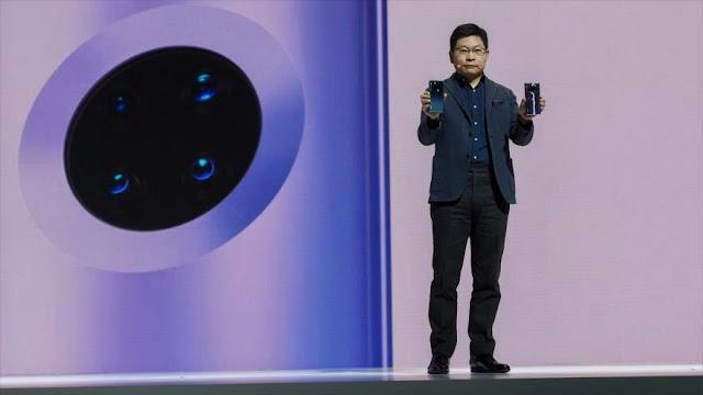 Huawei presenta su primer smartphone sin aplicaciones de Google