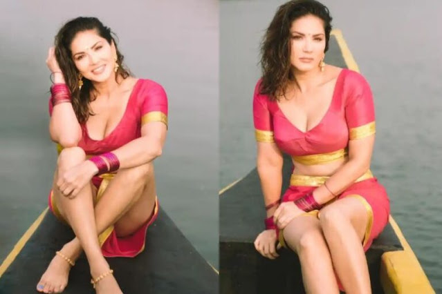 sunny-leone-in-south-indian-look