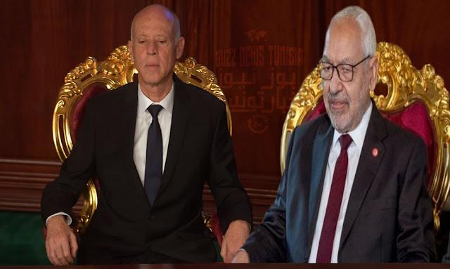 Ennahdha dénonce le discours de Kaïs Saïed où il s'est déclaré commandant suprême des forces armées