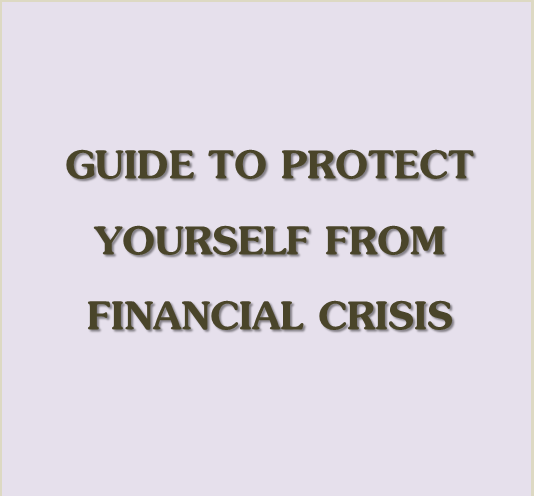how to save yourself from financial troubles -  by www.familyfinance.in