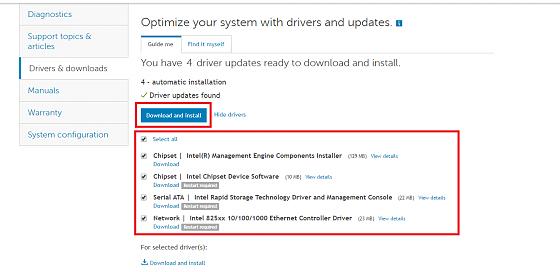 Hướng dẫn chi tiết cập nhật tự động driver máy tính Dell mới nhất [Thủ thuật VIP 2017]