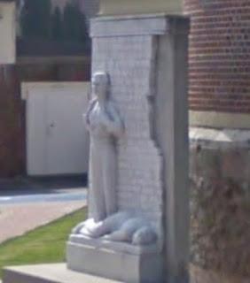 Statue Commémoration Pont-à-vendin