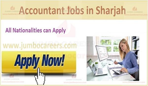 Latest Accountant Jobs in Sharjah UAE