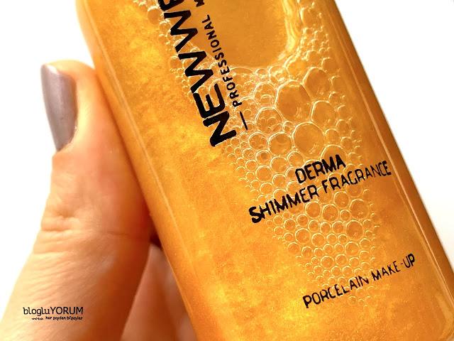 new well derma shimmer fragrance vücut spreyi 1