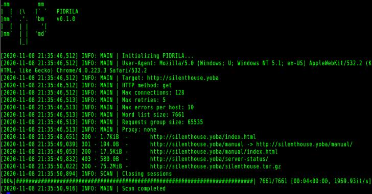 Pidrila : Python Interactive Deepweb-Oriented Rapid Intelligent Link Analyzer