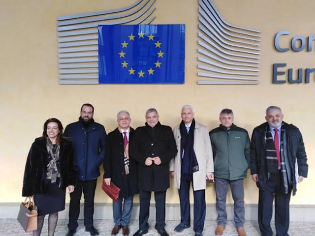 Συναντήσεις στις Βρυξέλλες για θέματα της Περιφέρειας