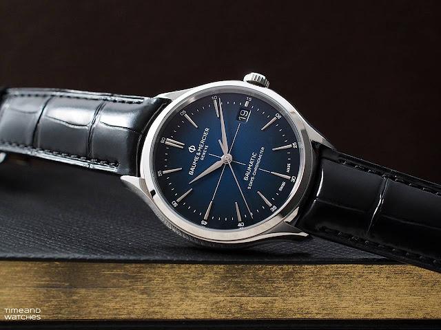 Baume et Mercier Clifton Baumatic Blue Dial 10467