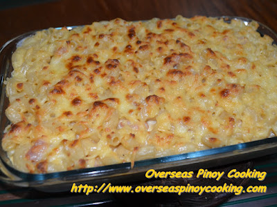 Baked Macaroni and Cheese Pinoy Style Recipe