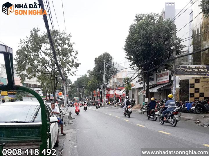 Nhà mặt tiền trục đường Lê Văn Thọ và Cây Trâm luôn sốt xìn xịt