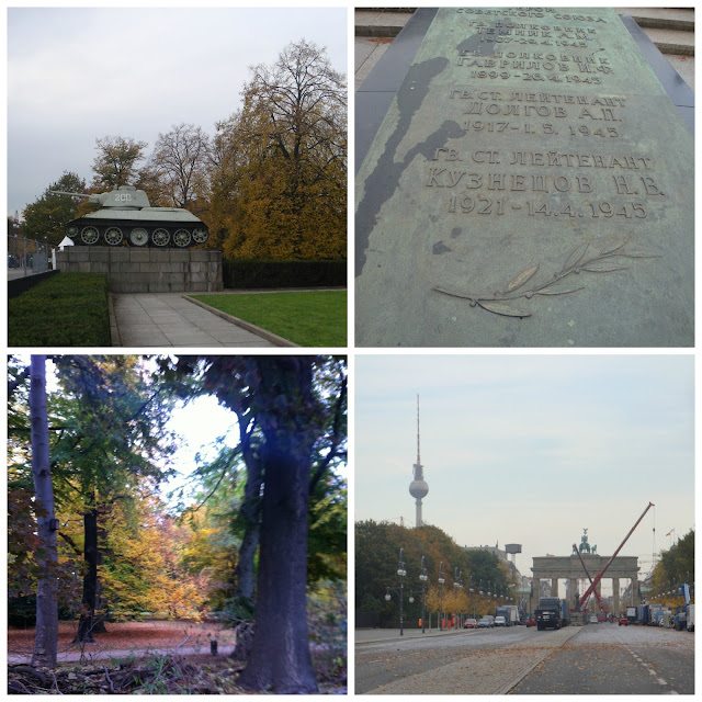 Memorial de Guerra Soviético ou Sowjetisches Ehrenmal no Tiergartenem  Berlim