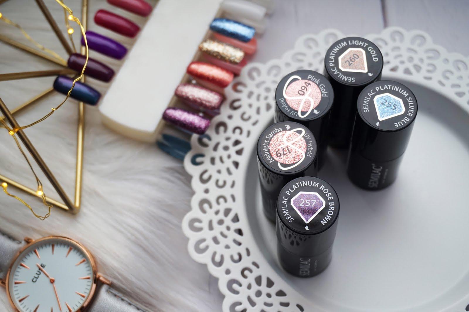 Nowości z Semilac! | kolekcja Legendary Six by Margaret & Platinium | mój nowy, zimowy manicure