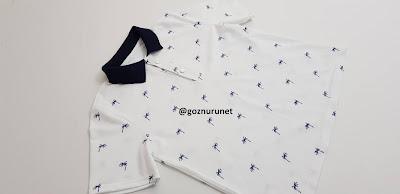 Polo Yaka Kadın Lakost Tişört Dikimi