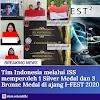 Tim Indonesia dari ISS Berhasil Memperoleh 1 Silver Medal dan 3 Bronze Medal di Ajang I-FEST 2020