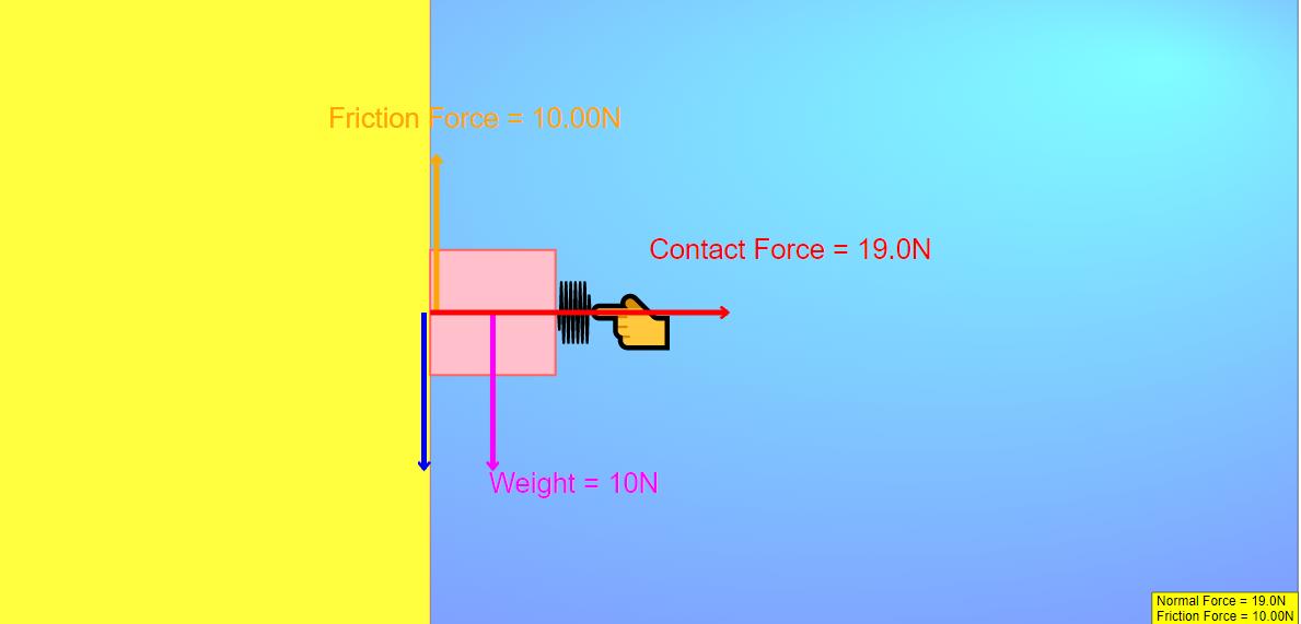 Pushing on a block javascript simulation applet html5 open pushing on a block javascript simulation applet html5 ccuart Choice Image
