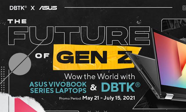 Asus VivoBook x DBTK Gizmo Manila