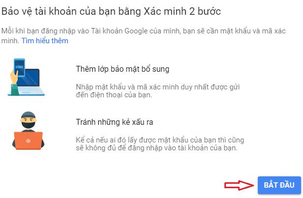 Bảo Mật 2 Lớp Gmail Bằng Số Điện Thoại - Top5Free.