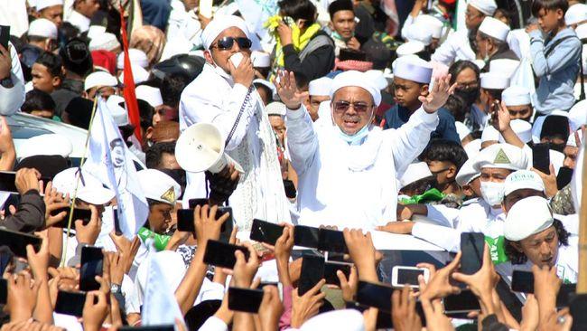 Ditanya Habib Rizieq, Saksi Benarkan Megamendung Sudah Zona Merah Sebelum Kerumunan