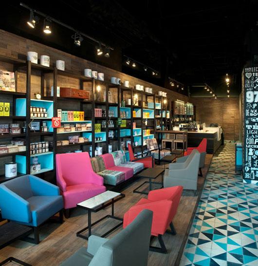 book cafe interior design modern style - Architecture Ideas