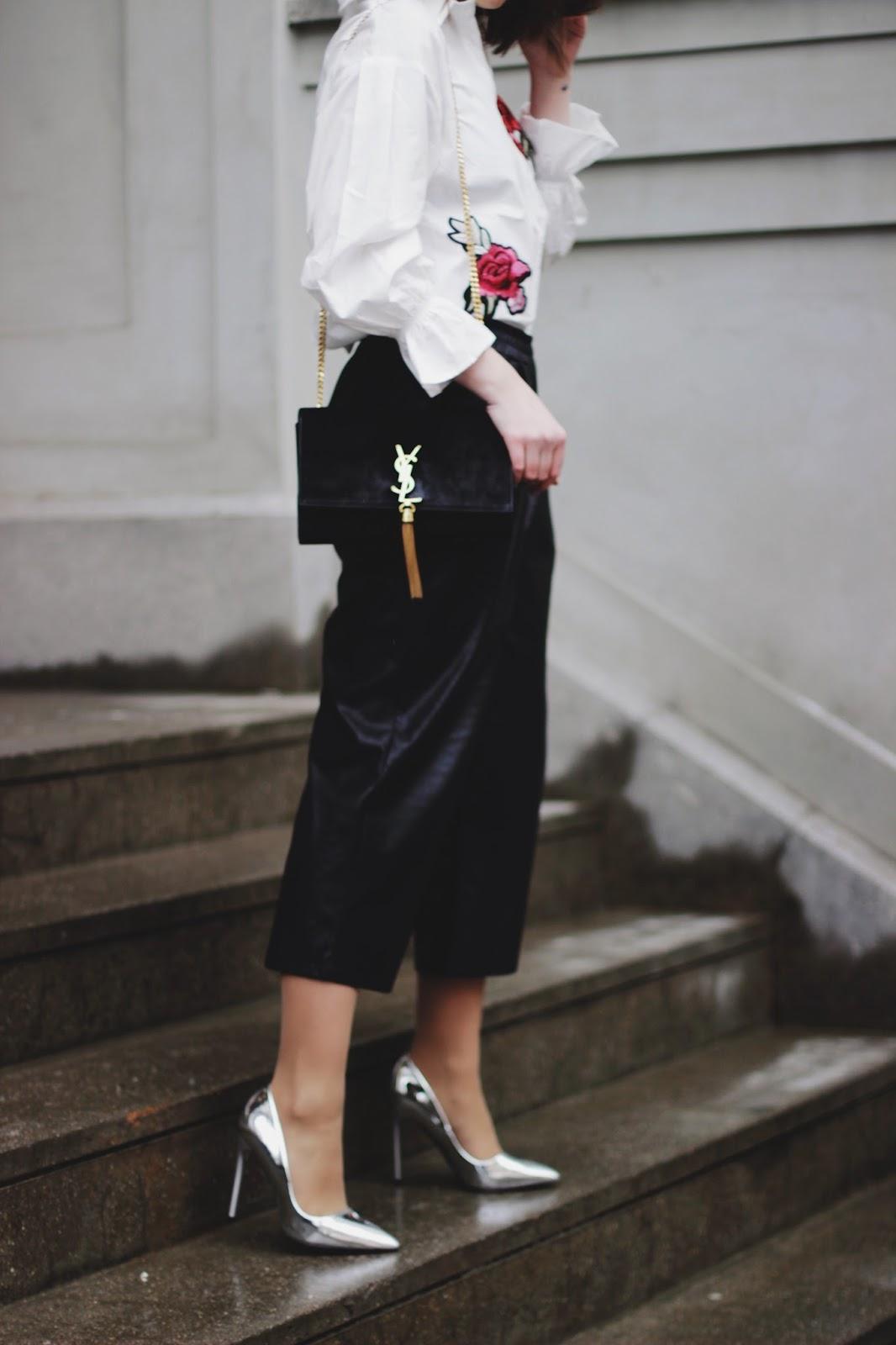 Embroidery Shirt   SheIn   Fashion Blogger