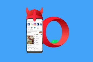 Cara Mengaktifkan VPN Gratis di Browser Opera Android