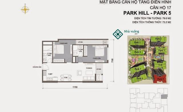Căn hộ số 17 Times City Park Hill 5
