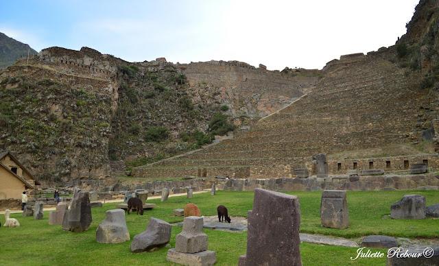Forteresse d'Ollantaytambo, Vallée Sacrée, Pérou