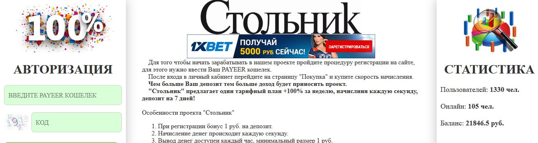 Мошеннический сайт invest-100.ru – Отзывы, развод, платит или лохотрон?