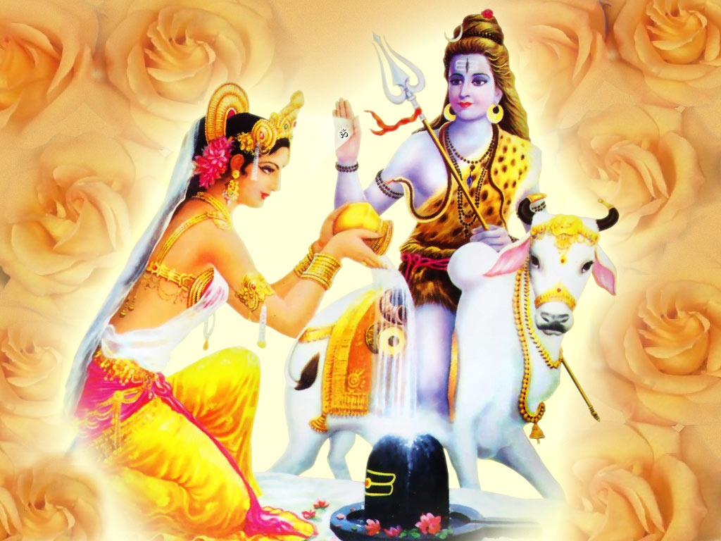 shiva parvati hd wallpapers for desktop | hindu god wallpapers