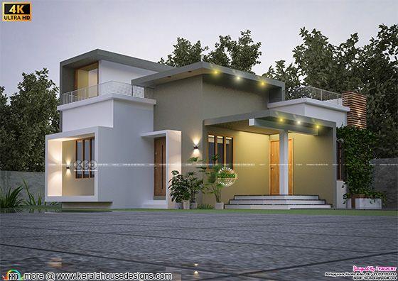 Single Storied Budget Home design