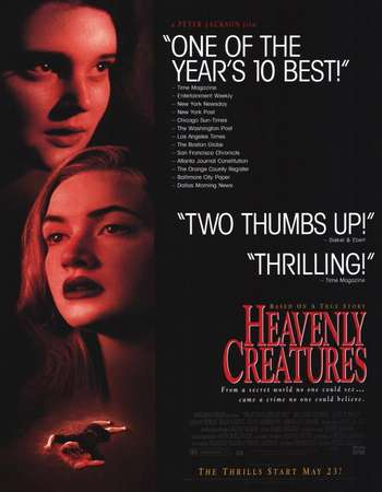 Poster Of Heavenly Creatures 1994 English 350MB BRRip 480p ESubs Watch Online Free Download downloadhub.net
