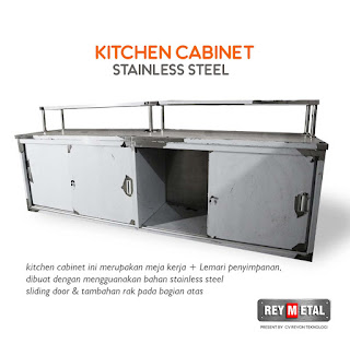 Kitchen cabinet stainless steel murah