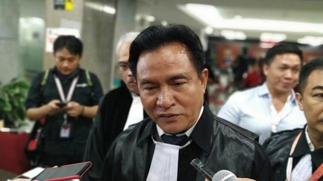 Pendapatnya Dikutip Tim Hukum Prabowo di MK, Yusril: Itu Sudah Tak Relevan