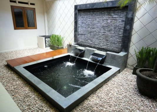 20 contoh desain kolam ikan minimalis dalam rumah