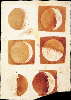 Fases de la luna. Galileo.