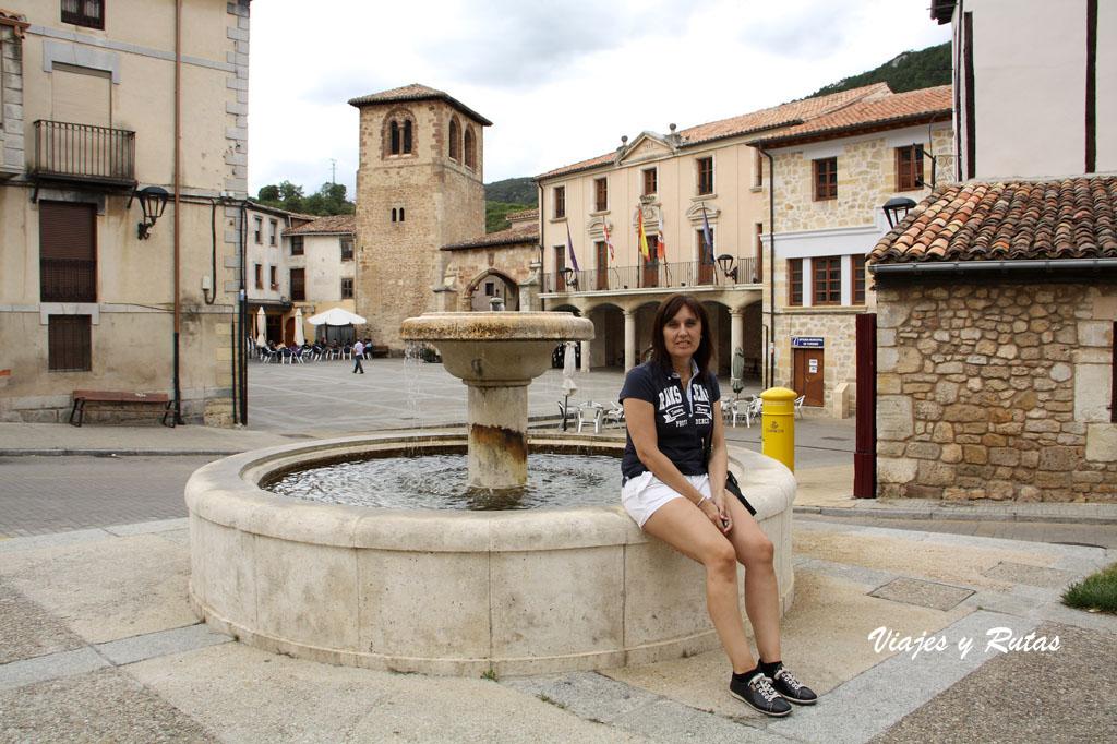 Plaza Mayor de Oña