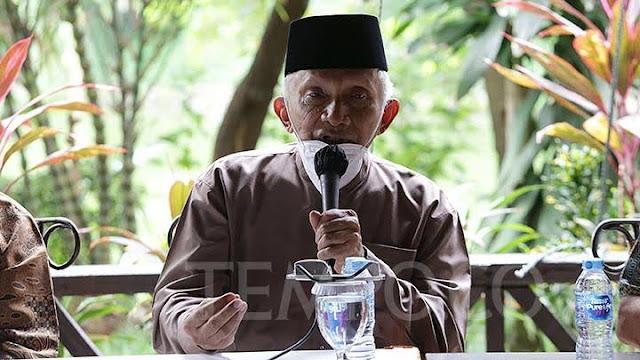 Amien Rais: Orde Baru Sudah Kita Ucapkan Good Bye, di Era Jokowi Berinkarnasi Kembali