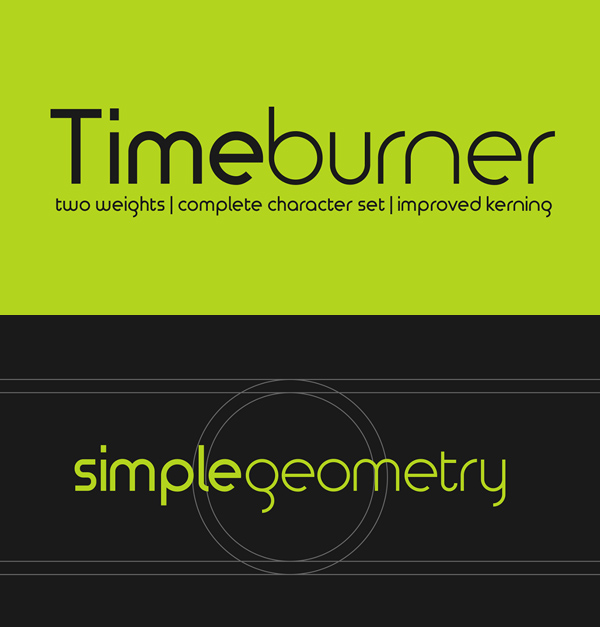 Timeburner Free Font
