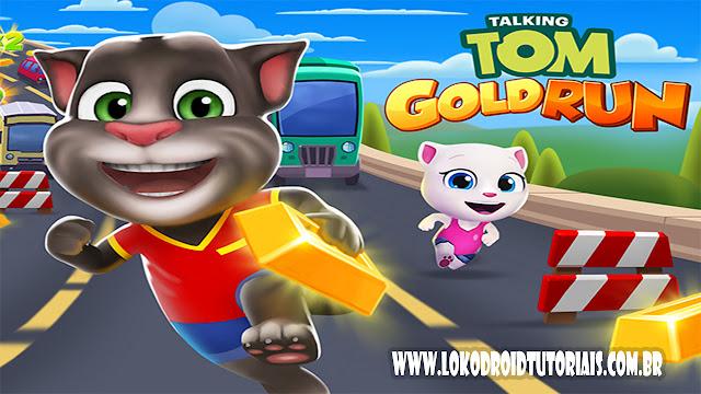 Tom gold Run APK MOD dinheiro reverso
