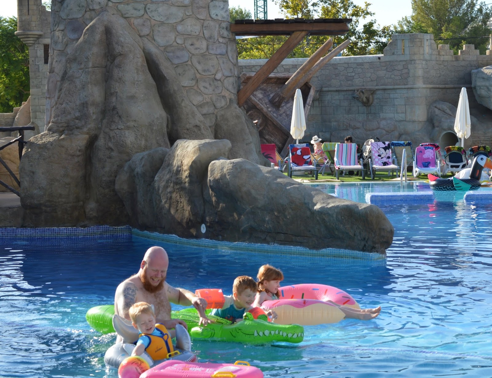 Pirates Village Santa Ponsa | Jet 2 Holidays Review  - inflatables in pool