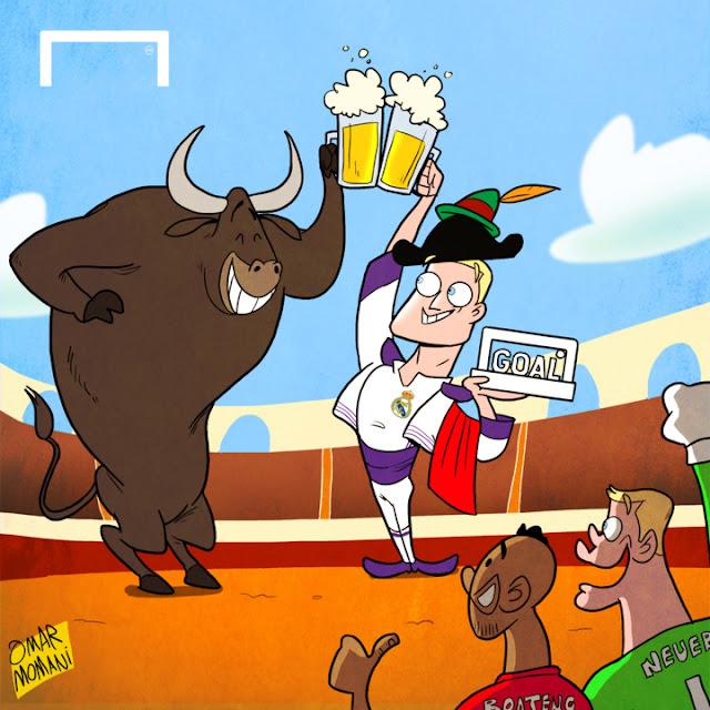 Toni Kroos cartoon