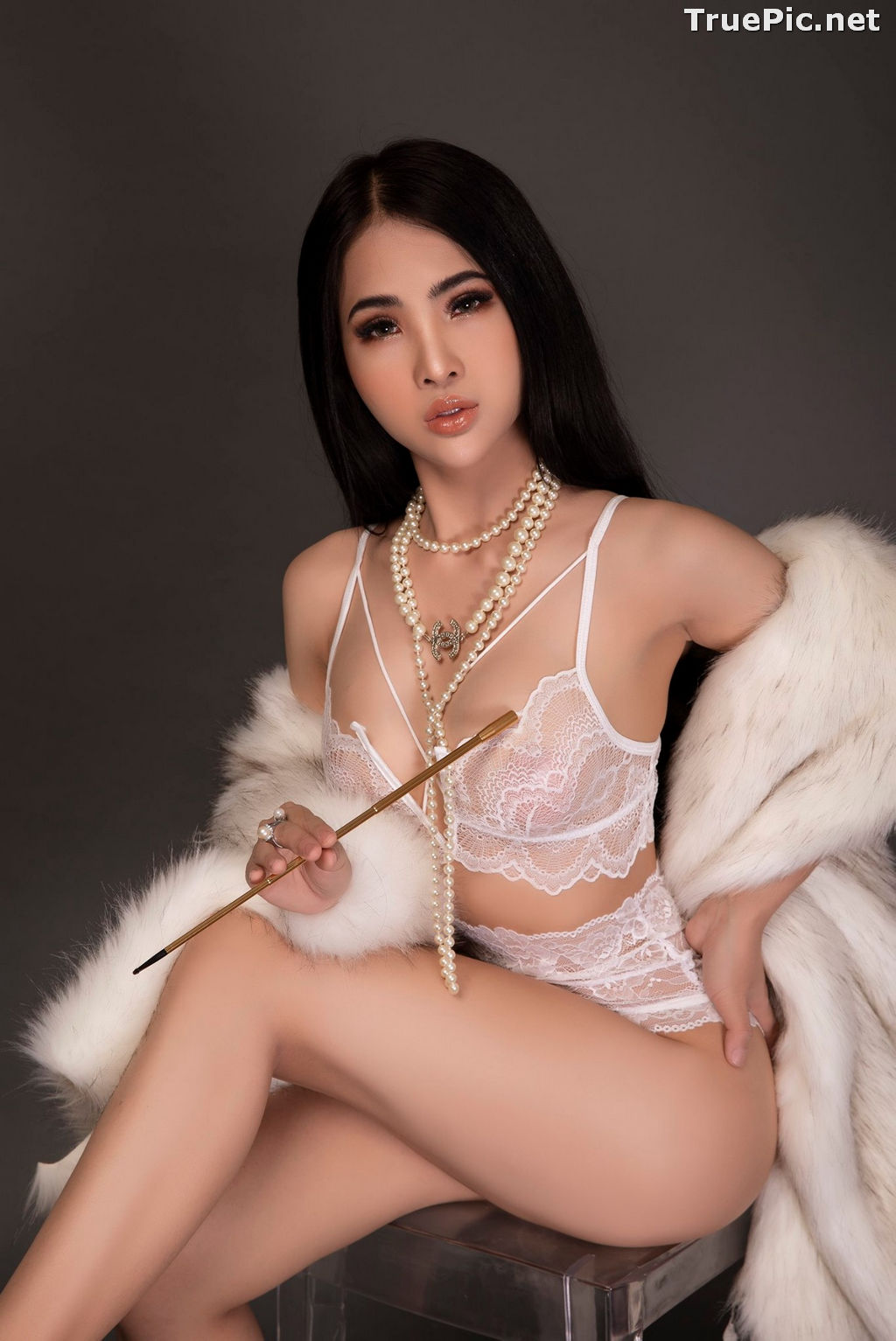 Image Vietnamese Model - Hot Beautiful Girls In White Collection - TruePic.net - Picture-5