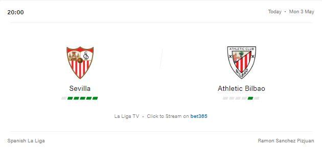 Sevilla vs Athletic Bilbao Preview and Prediction 2021