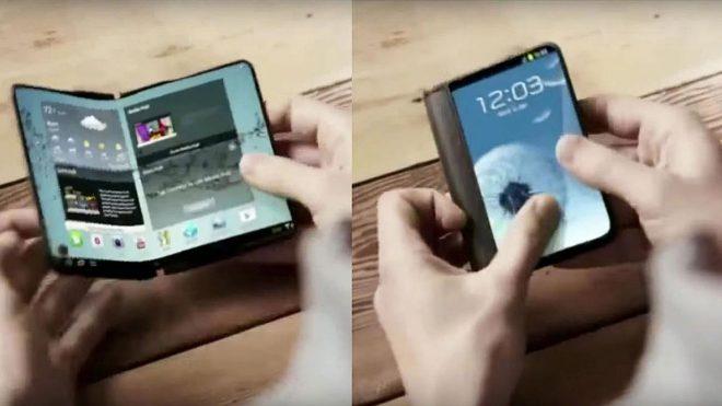 Samsung Katlanabilir Telefon Geliyor