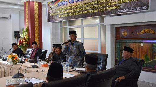 Pemko Padang Sambut Baik Musda VIII LKAAM Kota Padang